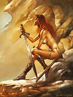 As painted by Boris Vallejo